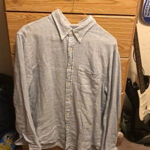 Abercrombie and Fitch Linen Button-up